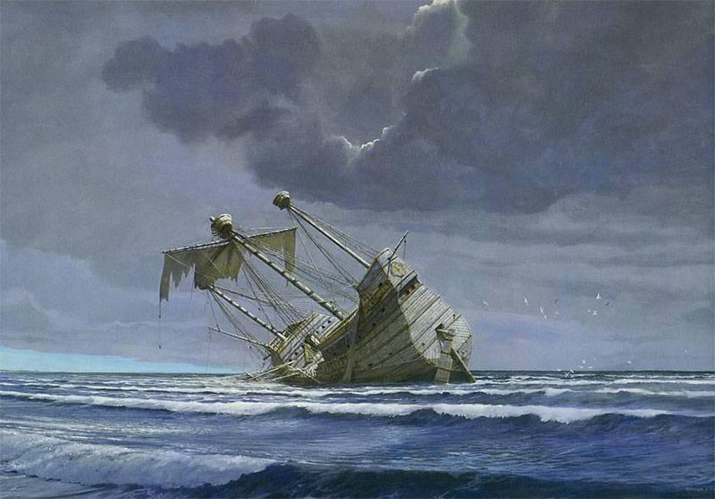 Кораблекрушения в картинках