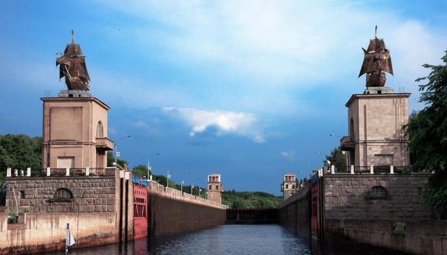 Шлюз №3 Канала имени Москвы